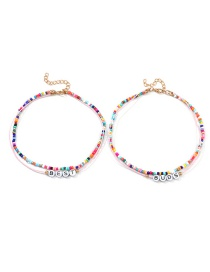 Fashion Color Rice Beads Bestbuds Set Of Chains