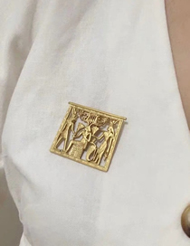 Fashion Gold Egyptian Pharaoh Brooch