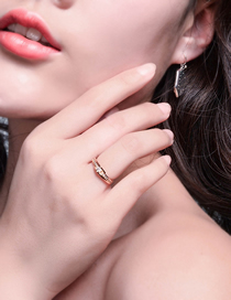 Fashion Kc Gold Zircon Ring