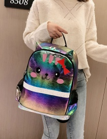 Fashion Color Kitty Backpack