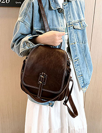 Fashion Brown Backpack