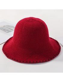 Sombrero De Punto De Encaje