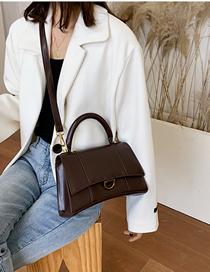 Fashion Red Wine Hand Shoulder Bag  Pu