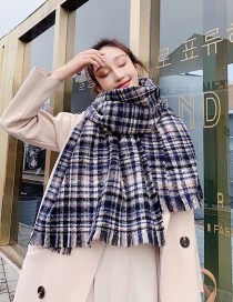 Fashion Tibetan Rice Imitation Cashmere Loop Yarn Scarf Shawl