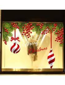 Adhesivo De Navidad Bola Colgante Uva