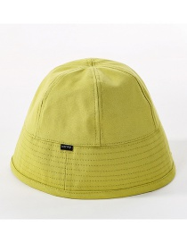 Fashion Avocado Green Cotton Fisherman Hat