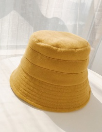 Fashion Three-figure Turmeric Woolen Bell Pot