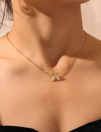 Fashion Gold Wing Necklace