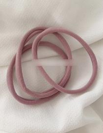 Fashion Pink - Lengthened 3 Pieces High Elastic Towel Loop Rope