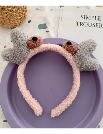 Fashion Light Pink Crab Crab Headband