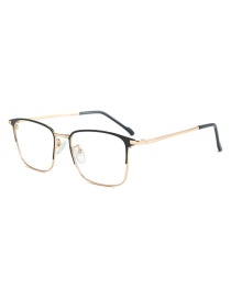 Fashion Gold Frame White Screen C4 Metal Full Frame White Screen Glasses