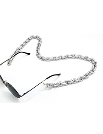 Silver Acrylic Anti-slip Anti-lost Glasses Chain