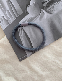 Gray-green Wool Rope