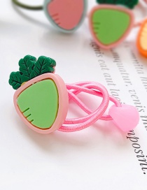Fashion Pink Carrot-pull The Rope Carrot Child Hair Rope
