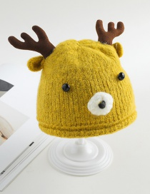 Fashion Milky Elk Baby Hat