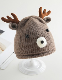 Fashion White Elk Baby Hat