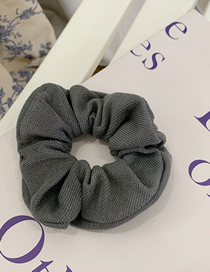Fashion Grey-green Cloth Knitted Hair Rope