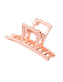 Fashion Rose Gold Alloy Hollow Grab