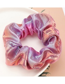 Fashion Pink Colorful Gradient Color Bowel Hair Rope