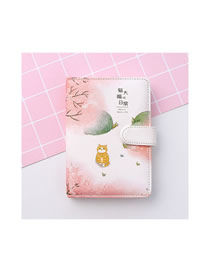 Fashion Cat Daifuku's Daily Life Cat Tai Fook's Everyday Portable Portable Notebook