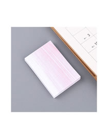 Fashion Textured Red-trumpet Textured Red Sticky Tearable Convenient Sticker