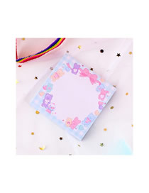 Fashion Bow Bear Bow Bear Note Pocket Paper