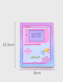 Fashion Game Game Pocket Office Post-it Notepad