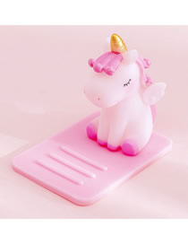 Fashion Pink Unicorn Unicorn Multifunctional Desktop Car Adjustable Mobile Phone Holder
