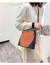 Fashion Black Cross Body Strap Shoulder Bag