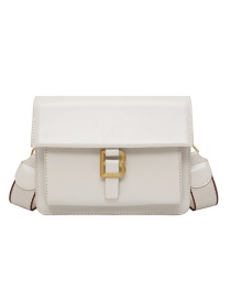 Fashion White Letter B Embroidered Cross-body Shoulder Bag