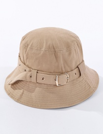 Fashion Khaki Belt Stud Fisherman Hat