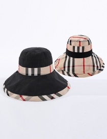 Fashion Black + Meter Babag Color-blocking Fisherman Hat