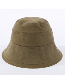 Fashion Armygreen Car Stitching Fisherman Hat