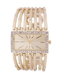 Fashion Golden Women's Quartz Watch