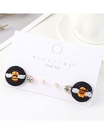 Set De Aretes De Diamantes Little Bee
