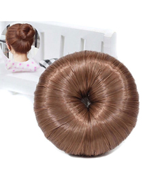 Fashion Coffee Color Ball Head Wig