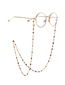 Fashion Color Eye Handmade Chain With Metal Glasses Chain