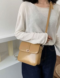 Fashion Yellow Single Shoulder Shoulder Bag