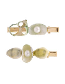 Fashion Golden Conch Shell Pearl Alloy Clip Set