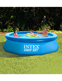 0dish Piscina Inflable Redonda Familiar 244 * 76cm