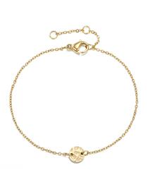 Fashion 14k Gold Irregular Uneven Chain Adjustable Bracelet