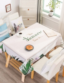 Fashion Shallow Margin (without The Same Chair Cover) (120 * 160cm Without Chair Cover) Printed Dustproof And Waterproof Household Tablecloth