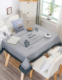 Fashion Simplicity (no Chair Cover Of The Same Style) (140 * 180cm Without Chair Cover) Printed Dustproof And Waterproof Household Tablecloth
