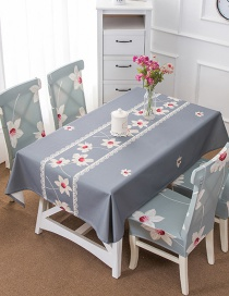 Fashion Late Autumn (140 * 210cm Without Chair Cover) Printed Dustproof And Waterproof Household Tablecloth