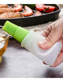 Fashion Green (without Cover) (without Cover) Comes With High Temperature Silicone Oil Brush For Oil Bottle