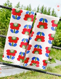 Fashion Adult Flower Ultra-thin Sunscreen Printed Animal Flower Fruit Ice Sleeve