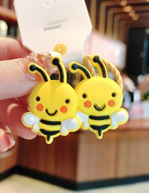 Fashion 1 Pair Of Small Bees Flower Animal Children High Elastic Hair Rope