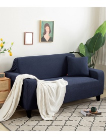 Fashion Pullland Thick Corn Wool Dustproof Solid Color All-inclusive Elastic Non-slip Sofa Cover
