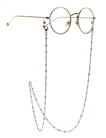 Fashion Color Stainless Steel Drip Hand Chain Anti-skid Glasses Chain