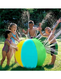 Fashion Color Pvc Water Spray Inflatable Beach Ball